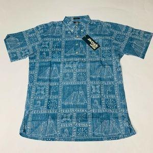 Reyn Spooner Mens Hawaian Shirt Size Small Newport